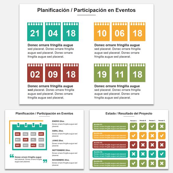 Diapositivas para power point para planificar una propuesta comercial en una presentación de ventas