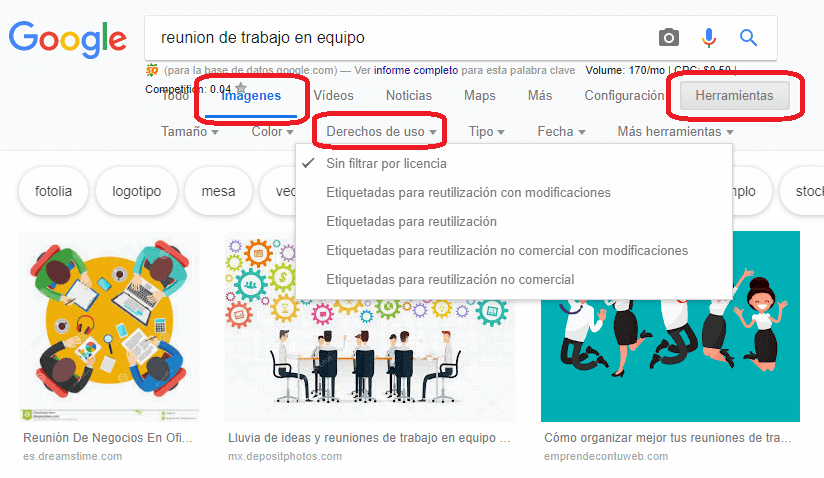 Imágenes para Diapositivas Power Point en Google