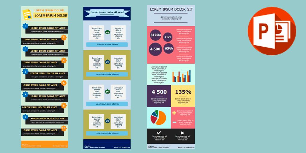 Ejemplos de Infografías en Power Point