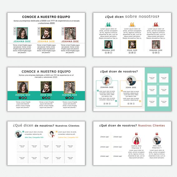 Plantillas Powerpoint para Organigramas Empresariales