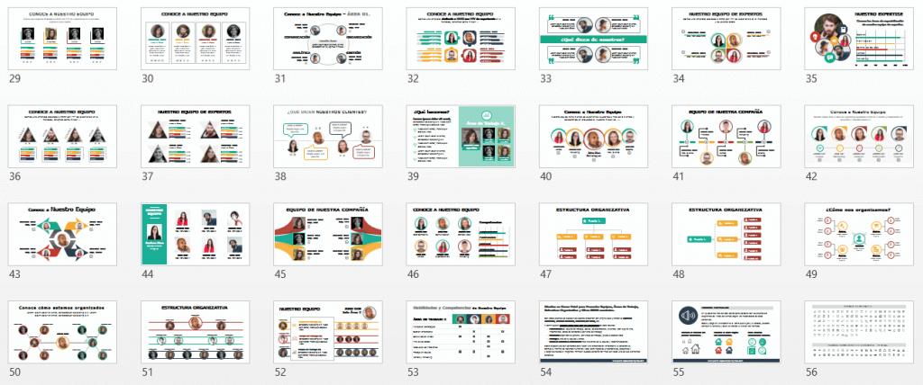 Plantillas Powerpoint para Estructura de Empresa y Organigrama