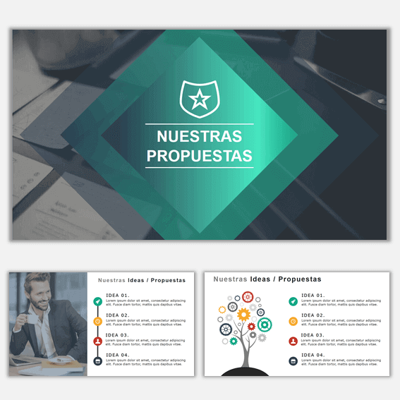 Plantillas de Power Point para Presentaciones Business 11