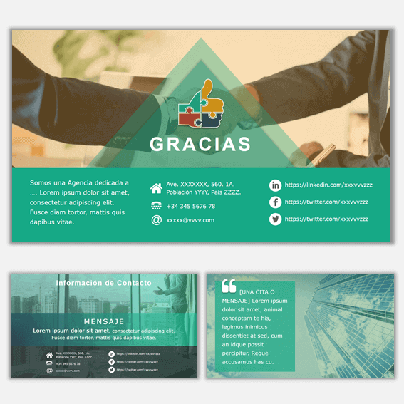 Plantillas de Power Point para Presentaciones Business 15