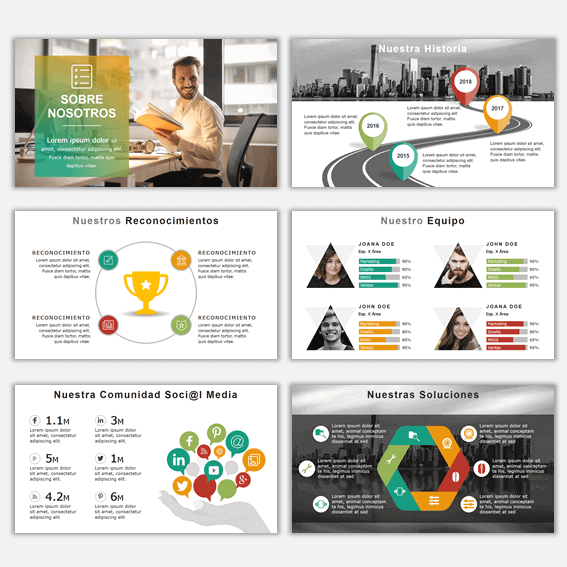 Plantillas de Power Point para Presentaciones Business