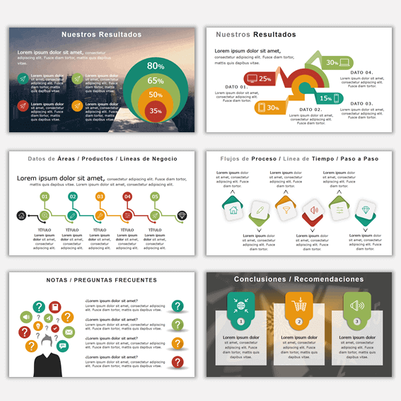 Plantillas de Power Point para Presentaciones Business 21
