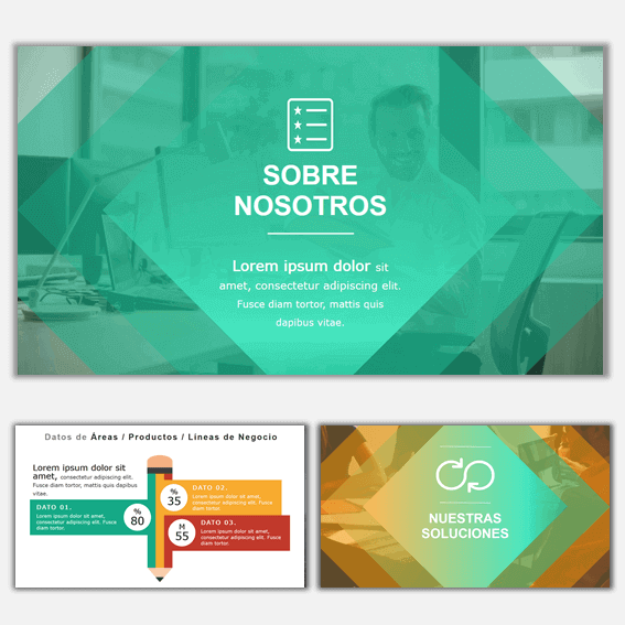 Plantillas de Power Point para Presentaciones Business 3