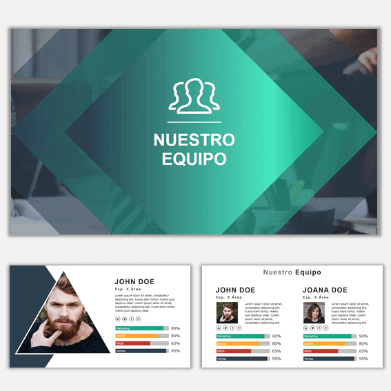 Plantillas de Power Point para Presentaciones Business 5