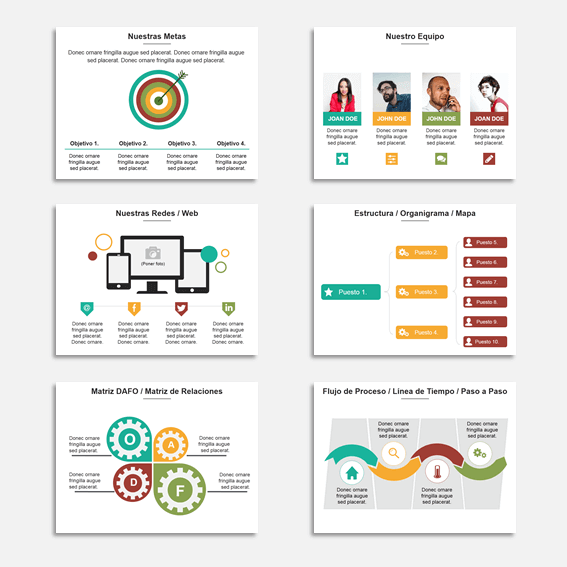 Plantillas para Presentaciones en Power Point Modelo Star 6