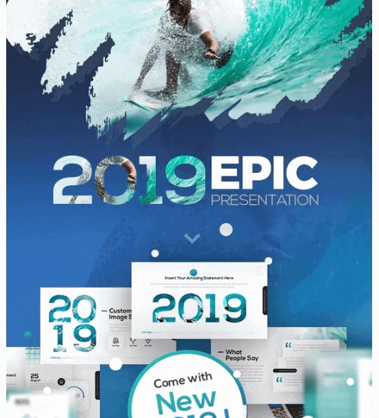Plantillas para Presentaciones Creativas Envato EPIC