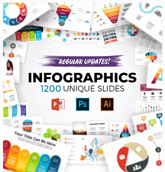 Plantillas PPT Infografias para Presentaciones Creativas y Profesionales